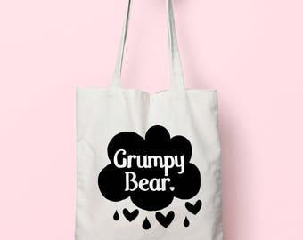Grumpy Bear Tote Bag