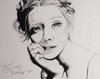 Portrait. Woman in doubt