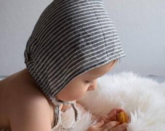 Linen Pixi Bonnet