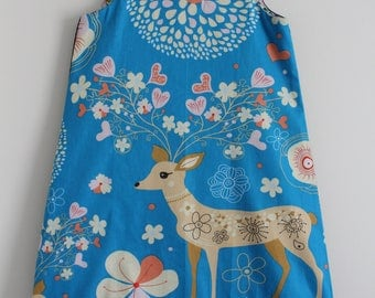 "Winter dress ""deer"" T 8/9 years"