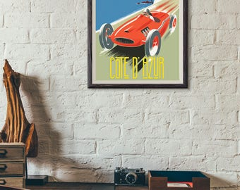 Vintage Style Art Print-Decor-Home Decor