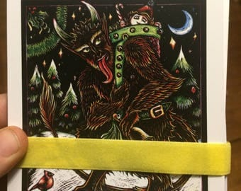 Krampus Yuletide Devil Holiday Cards Variety Pack
