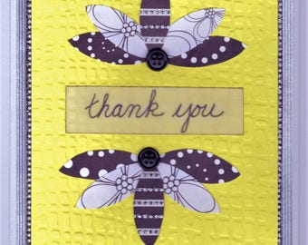 All Occasion Card - Bumble Bees