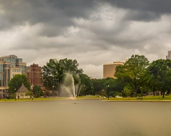 Downtown Huntsville from Big Spring