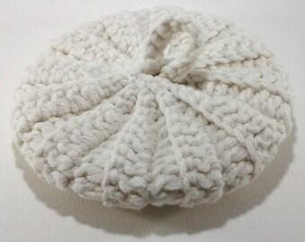 Cotton/acrylic 10 cm ecru Tawashi