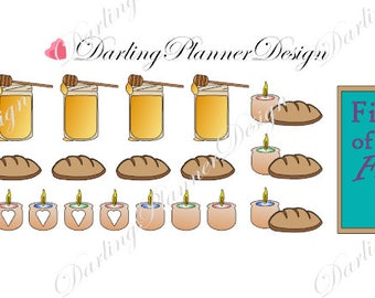 Honey Fall - First Day of Fall 23 Planner Stickers