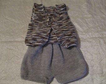 (Hand-made) sleeveless baby vest
