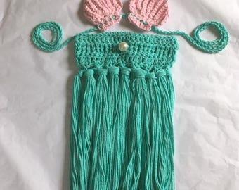 Mermaid skirt and top