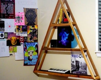 Triangular Cedar Shelf