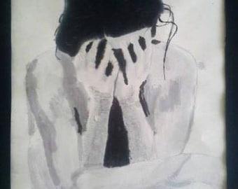 Weeping Woman 2001