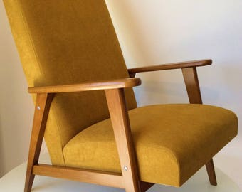 Fully restored vintage Manucere 1971 armchairs