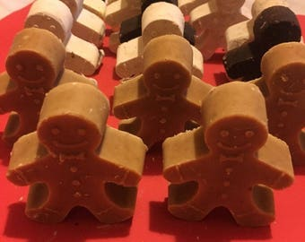 Hand made Christmas Soaps in 2-pack