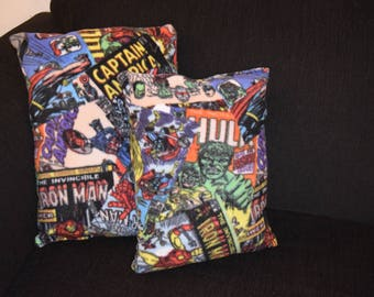 Marvel Superhero Pillow Set