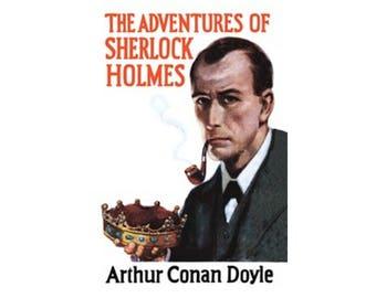 Canvas Art Print - The Adventures of Sherlock Holmes ( Arthur Conan Doyle )