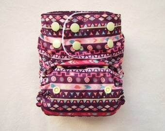 Cloth Diapers, Cloth Diaper Covers, Diaper Cover, Pocket Diapers, One size Diapers, Modern, Baby Girl, Pink Stripes, reusable diapers
