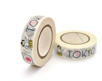 10 meters of masking tape 15mm Tokyo Japan