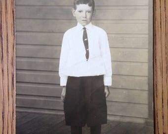 Vintage Original Photo Portrait of Young boy 1910s?