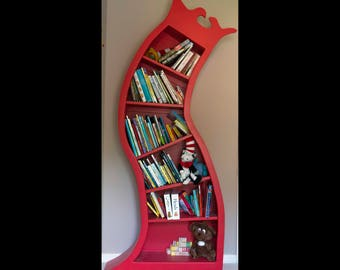 Dr. Seuss Insprired Bookcase
