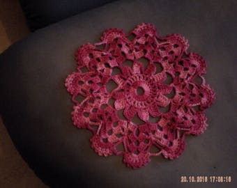 Doilies crocheted multicolor cotton packs or individually