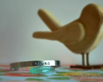 Strong ~ Cuff ~Bracelet ~ Made to Order