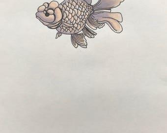 Lavender Goldfish
