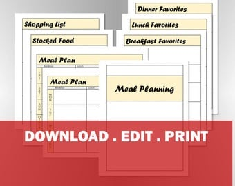 Meal Planning Package