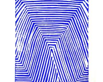 Linocut: Angular digital