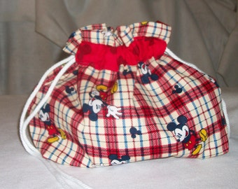 BlueButterflyBags Micky Mouse 4 skein project bag