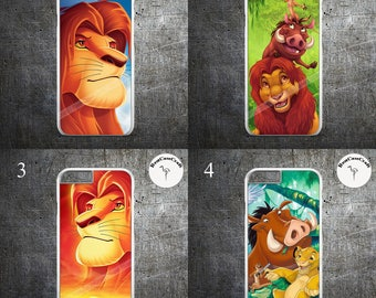 Disney The Lion King Protective iPhone Case for iPhone 5/5s, iPhone 6/6s, iPhone 6/6s Plus