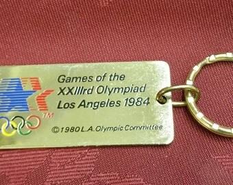 1984 Olympic Key Chain Fob