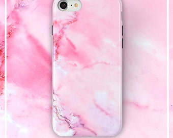 iPhone 8 marble case, iPhone 7 case, iPhone 8 Protective TPU Case for Girl