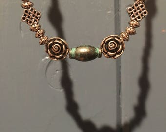 The Patina Rose Choker Necklace