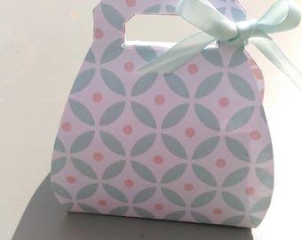 personalized purse box. set of 5.