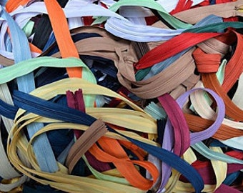 100 invisible zippers not separable all sizes any colors