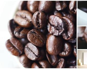 Photo beans coffee