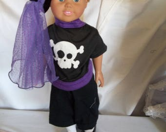 "18"" doll Pirate Outfit 376E"