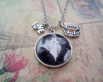Necklace  Stelena, jewelry the vampire diaries