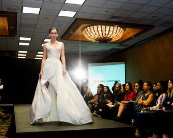 2 Piece Bridal Gown
