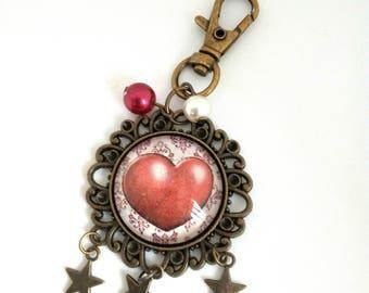 Heart shaped key