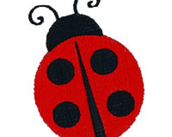 Lady Bug Embroidery