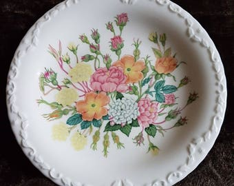 Coalport Fine Bone China - Plate - Rose Garden