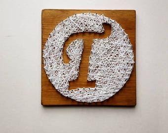 String art letter, monogram, nail art, wall hanging. Buy two get one free