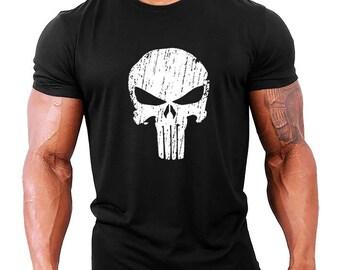 Punisher Mens Bodybuilding T-Shirt - Gym / Workout / Fitness
