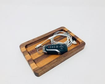 Catchall Tray / Valet Tray /  Wood Catchall Tray /  Wood Tray // Wood Catch All //