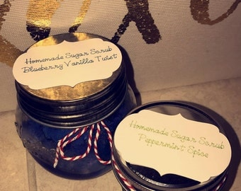 Sugar Scrubs (Homemade, Customized)