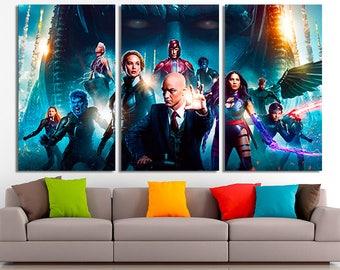 X-man, Marvel art, X-man canvas, Marvel Wall art, Large Canvas, Home Decor, Marvel home decor, X-man photo, X-man print, Marvel print