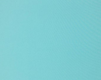 Turquoise Cotton Fabric, 100% Cotton, Plain Cotton, Fabric by the Yard, Fabric by the Half Yard, Quilting Fabric, Apparel Fabric