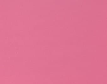 Pink Solid Flannel Fabric, Fabric by the Yard, Quilting Fabric, Apparel Fabric, Solid Flannel