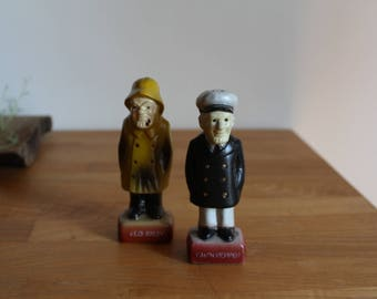 Old Salty and Cap'n Pepper Shakers