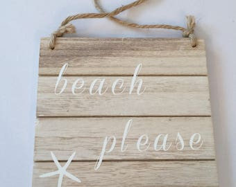 Beach Sign - Ready to Ship